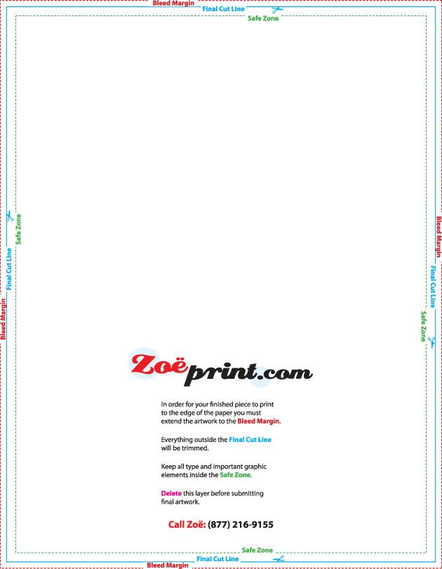 Templates - 85 x11 brochure template