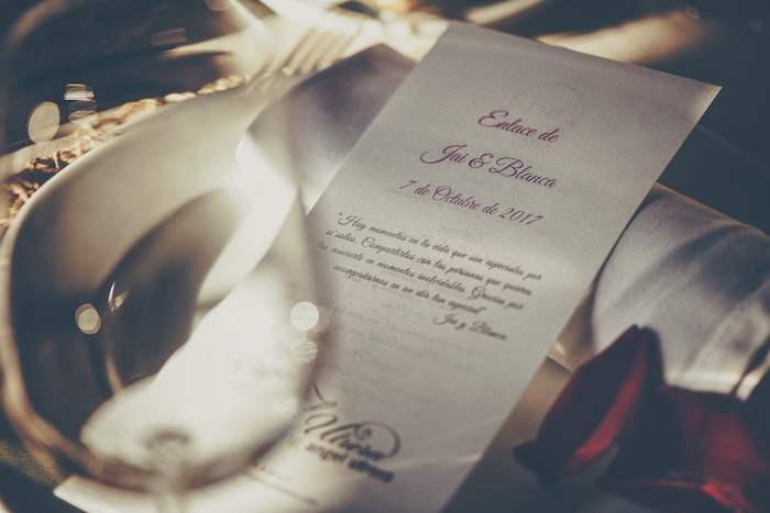 cheap wedding program printing